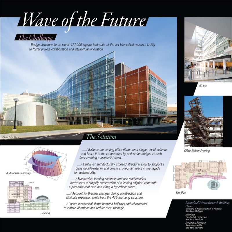University of Michigan Biomedical Science Research Building